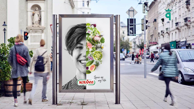 Spice Up My Life Werbeplakat in Wien