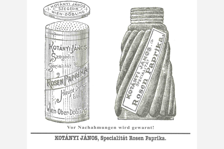 Kotányi paprikaszóró 1900-ból