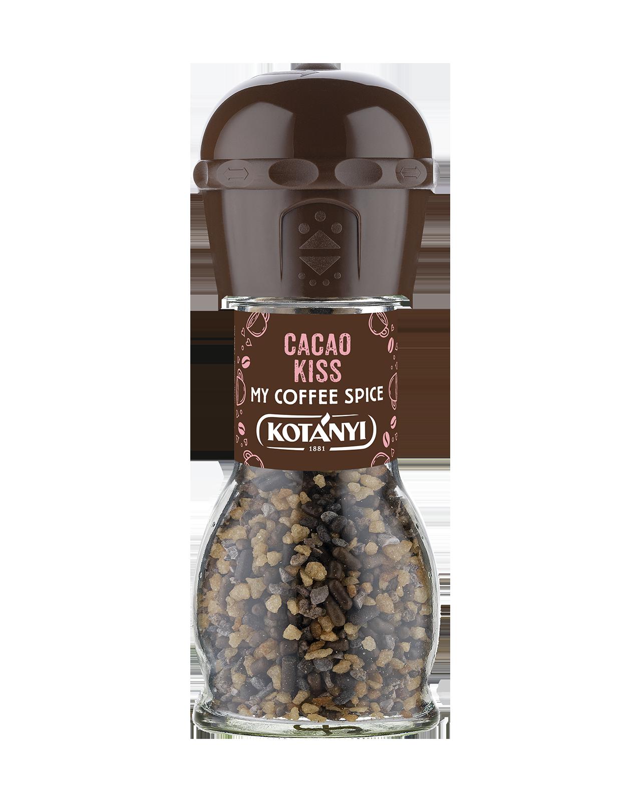 438002 Kotanyi Cacao Kiss B2c Mill Disposable